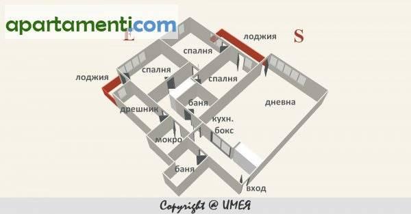 Четиристаен апартамент, София, Сердика 1